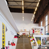 Interior of RS+Yellow Furniture Outlet. Photo by Olaf Mahlstedt. © BOLLES+WILSON