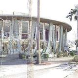 compiling a point cloud for architectural restoration of a googie style 60s bank via John Tocci