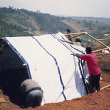 Paper Emergency Shelter for UNHCR.