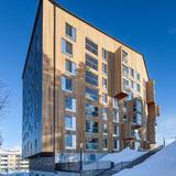 Puukuokka in Kuokkala, Jyväskylä by OOPEAA Office for Peripheral Architecture. Photo: Mikko Auerniitty.