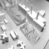 a model of a power plant in NYC by Anders Sletbak