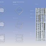 Facade and plan, Concept B (Image: RAFAA)