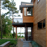 Cove House in Massachusetts by stanev potts architects
