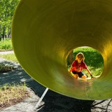 6 architects and designers won a competition to design low-tech, outdoor play areas. Here are the results...