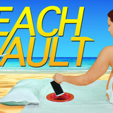 Conceal Your Valuables - Relax With The Beach Vault. Image via Kickstarter.