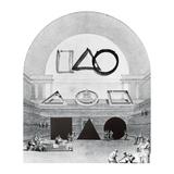 Library of the Shapes: Hardcorist evolution in Art, Sengai Gibon, Walter de Maria, Garcia Frankowski