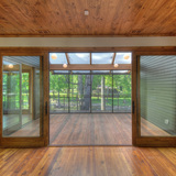 Tellico Cabin in Tellico Plains, TN by Hefferlin & Kronenberg Architects; Photo: Sara Dario/Harlan Hambright