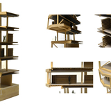 Old City Public Library by Nikos Nasis (section model)