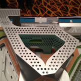 Model photo of the winning competition entry by Neil M. Denari Architects (Photo: Michael Speaks)