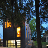 Nexus House; Madison, WI by Johnsen Schmaling Architects (Photo: John J. Macaulay)