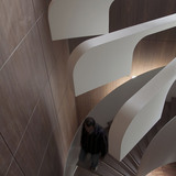 Saifi Residence Staircase in Beirut, Lebanon by .PSLAB