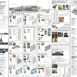 2nd Next Generation Prize: Materials reuse and regional transformation scheme, Gijón / Xixón, Spain by Elisa de los Reyes Garcia, Universidad Politécnica de Madrid, Spain: RE-using strategy: catalog of construction systems made of reused materials.