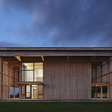 Won Dharma Center in Claverack, New York by Hanrahan Meyers Architects (photo: Michael Moran/ ottoarchive.com)