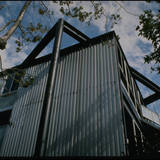 Schwartz residence in Santa Monica (1996) by Pierre Koenig, from Pierre Koenig's collection. Image via digitallibrary.usc.edu.