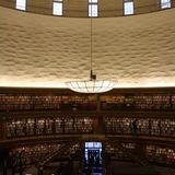 Gunnar Asplund's Stockholm Public Library via A.D.Morley & J.A.Wong