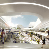Los Angeles Union Station Master Plan, interior (Image: UNStudio)
