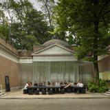OfficeUS Curators, Partners and Designers at the US Pavilion. Courtesy David Sundberg : Esto