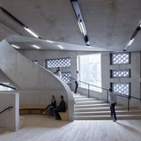 Unexpected places … the stairwells with seating areas Photograph; Iwan Baan / PR Image