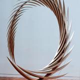 Infinite Spirit, 2013. Lime Wood, cm 330 x 30 x 300 cm. Property of Studio Calatrava © Santiago Calatrava