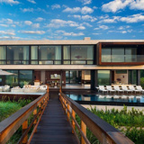 Daniels Lane in Sagaponack, NY by Blaze Makoid Architecture (Architect of Record)
