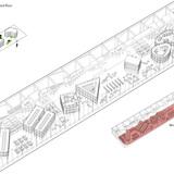 Axonometric view of the third floor (Image: AAKAA & MARS Architectes)