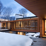 Bridge House; Kent, CT - Joeb Moore & Partners. Photo © David Sundberg, Esto Photographics