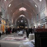 Rehabilitation of Tabriz Bazaar: Carpet market. Photo: AKAA / Amir Anoushfar