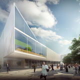 Long Live the Library! by Tomas Labanc + Ramon Bernabe Simo (Rendering: idealarch)