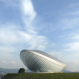 The Arc River Culture Theatre in Daegu, South Korea by Asymptote Architecture