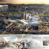 Los Angeles Union Station Master Plan, complete 'Vision Board' (Image: UNStudio)