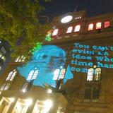 Protest Outside Cooper Union's Foundation Building, During Occupation