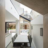 The Lined Extension in London, UK by YARD Architects; Photo: Richard Chivers