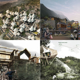 Winners of the AIM competition, Post Earthquake Reconstruction, Ya'an Sichuan-Rebuild Panda's hometown from the earthquake. Image courtesy of AIM.