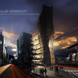 eVolo 2014 First Place winner: Vernacular Versatility. Yong Ju Lee (United States)