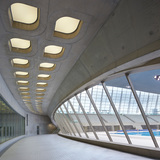 London Aquatics Centre by Zaha Hadid Architects was recently shortlisted for the RIBA Stirling Prize 2014. Photo © Hufton + Crow