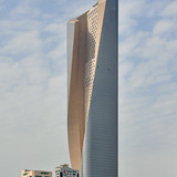 Emporis Skyscraper Award 2nd Place winnder Al Hamra Tower, Kuwait City, 412 m, 80 floors (Copyright- Pawel Sulima _ SOM)
