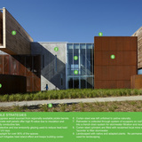 SustainABILITY Leadership Honor Award: James I Swenson Civil Engineering Building in Duluth, Minnesota by Ross Barney Architects in assoc. with TKDA (formerly Stanius Johnson). Photo: Kate Joyce, Kate Joyce Studios.