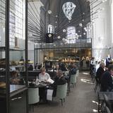 The Jane Restaurant in Antwerp, Belgium by Piet Boon architects; Lighting Designer & Manufacturing: PSLab