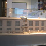 Architectural model of the Glasgow School of Art. via Wikimedia Commons