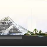 Section (Image courtesy of Mario Cucinella Architects)