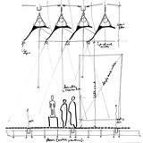 Renzo Piano' sketch showing how the leaves work reducing the level of the interior light (Image: Rpbw, Renzo Piano Building Workshop)