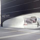 Alexander McQueen Showroom by Joanna Gronowska