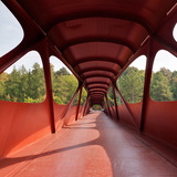 Footbridge in Esch-sur-Alzette, Luxembourg by Ney & Partners with Metaform Atelier dArchitecture