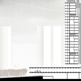 Felipe Colin Jr. and Jessica Hartwig | A long, horizontal bar of social/common space functions as a space of refuge at the base of Colin and Hartwigs tower scheme.