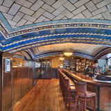 The Della Robbia Room of the Vanderbilt Hotel in New York is considered one of the most outstanding examples of decorative Guastavino vaulting ever built. Working with architects Warren and Wetmore, Guastavino Jr. developed a series of shallow vaults on arches, which were layered with ceramic...