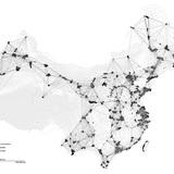 China city network. Image credit and courtesy of Dingliang Yang.