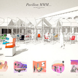 Dawn Town Design/Build 2 Winner: Pavilion MMM (Miami Many-a-chair Monument) By Design with Company