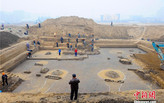 Massive tomb complex unearthed in Beijing suburb