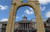Recreation of Palmyra's Arch of Triumph presented in Trafalgar Square