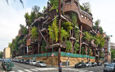 An Urban Treehouse That Absorbs Pollution